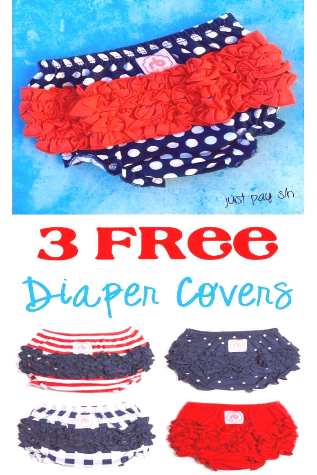 3 FREE Ruffle Buns Diaper Covers! + 24 more Baby Freebies - The Frugal Girls