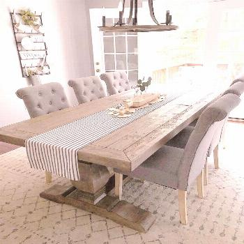 29 Best Rustic Table Ideas To Perfect Your Dining Room