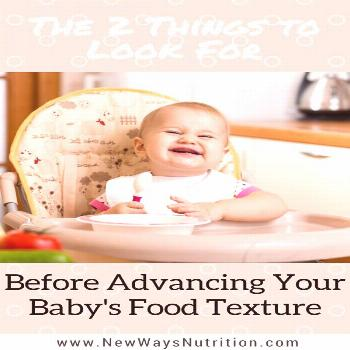 Advancing Your Baby's Food Textures Has your baby been eating food for a few months now? Are you