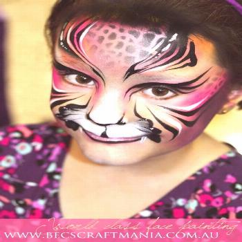 Becstar Artist / Anthony - Tiger Painting