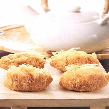 Crispy taro puffs, or 'wu gok' as they're known in Cantonese, are also sometimes referred to as 'ph