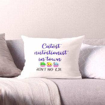 'Cutest coolest nutritionist in town, ain't no lie. Best gift ideas for dietitians. Funny hilarious