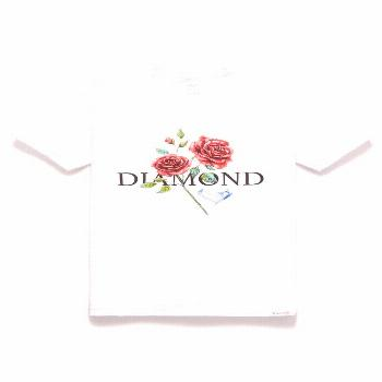 Diamond Supply Co Red Rose T-Shirt | PacSun