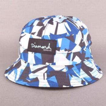 Diamond Supply Co. Simplicity Bucket Hat - Blue - Bucket Hats from Native Skate Store UK