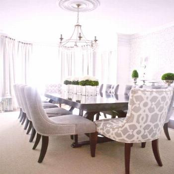Dining room, multi-functional rooms, is a simple space devoted solely to hosting and feasting. This