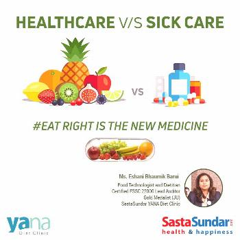 Eat Right is The New Medicine Eat Right is The New The Quintessential Mantra Revisited - Food Techn