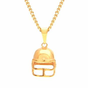 Football Helmet Chain Play QB like Tom Brady when your style our helmet chain, that's perfect for a