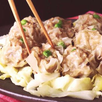 How to make Easy Skillet Siu Mai Dumplings.