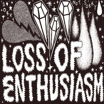 Loss of Enthusiasm Illustration ★ Black and white drawing by Leanna Perry. ✏️ ?