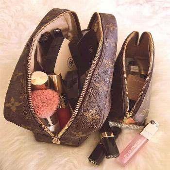 "Lover Of Bags & Diamonds on Instagram: ""My favourite LV Trousse 23 and cosmetic case. Both are vi"