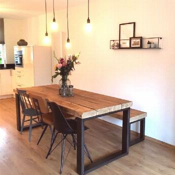 Rustic dining room sets are a must!