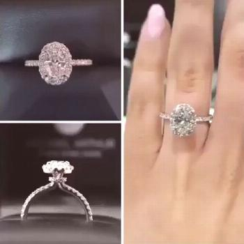 Say Yes to These Engagement Ring Ideas | My Sweet Engagement  What a beauty! ✨ Browse more engage