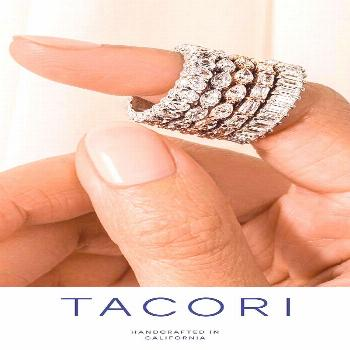 Tacori takes diamonds to new heights with exquisite attention to detail, beauty from every angle an