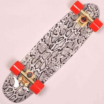 The Diamond Life Cruiser skateboard from Diamond Supply Co. is a quality plastic cruiser. It featur