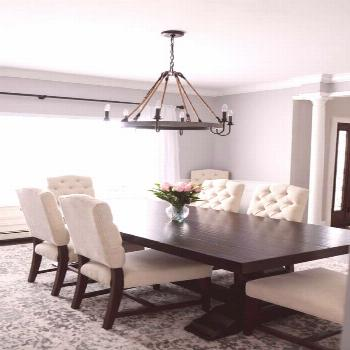 Use these stunning dining room ideas on a budget, all pulled from designer homes, to update your sp