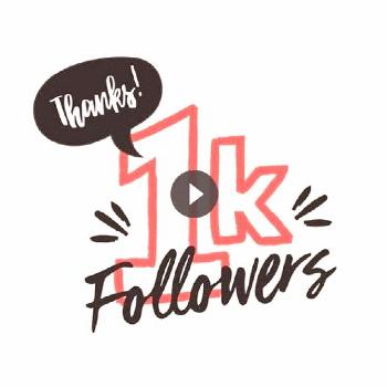 ????????We've officially passed 1K Instagram followers! ????????Thanks to all of you who support
