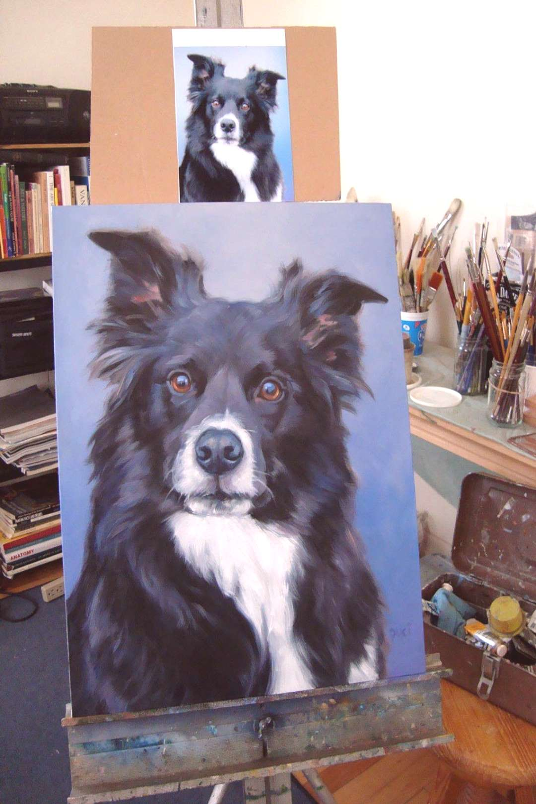 Custom Painting,pet portrait,oil painting,painting from your photos, 16x20