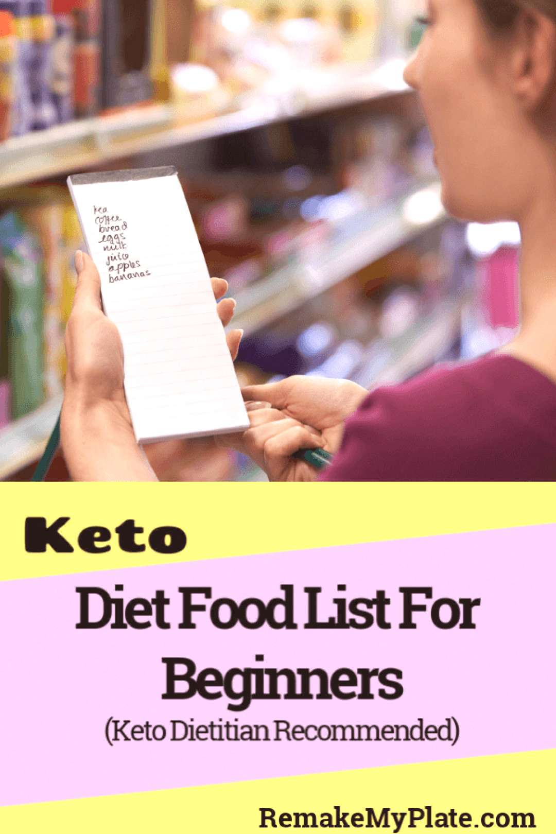 Keto Diet Food List For Beginners (Dietitian Recommended ...