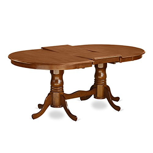 PLAI9-SBR-W 9 PC Dining room set for 8-Dining Table and 8