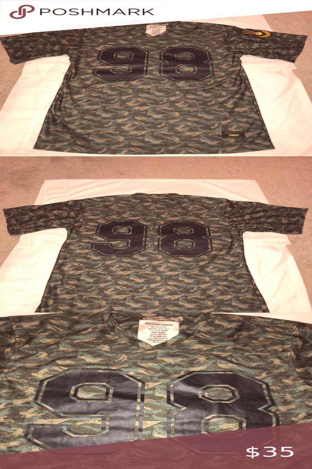 Special edition Diamond supply camo style jersey! This is a special edition Diamond supply Camo je