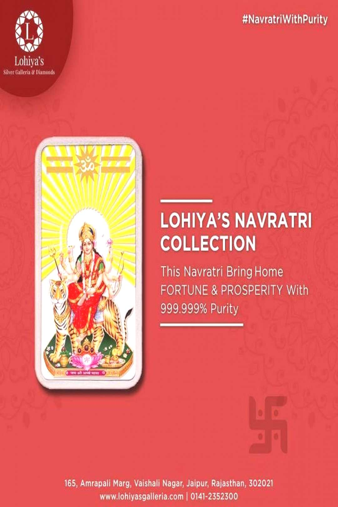 wishing you all a very prosperous Navratri. . . .            Bring fortune amp prosperity